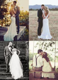 Позы для свадебной фотосессии осенью