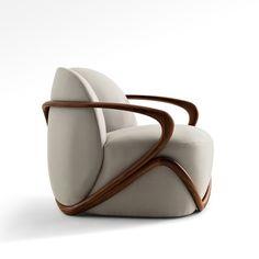 Lounge chairs: Hug Armchair by Giorgetti — ECC Lighting & Furniture