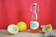 How to Make an All-Natural (and Yummy!) Cough Syrup via Brit + Co.