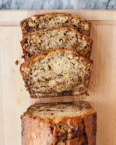 Here is a very basic and very forgiving recipe for delicious banana bread that takes all of 10 minutes to mix together.