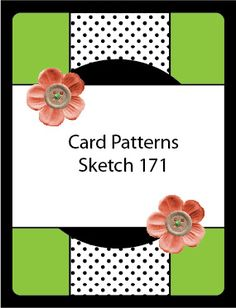 card sketch and examples