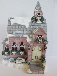 """Ivy & Innocence """"The Old Ivy Church"""" 05330 Cast Art Numbered 1999   MINT"""