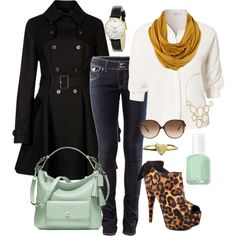 """""""Untitled #222"""" by bbs25 on Polyvore, shoes need to be flat for me."""