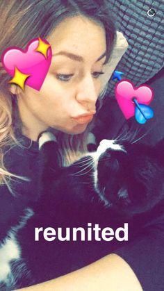 On Gemma's Snapchat