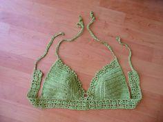 Crochet Bikini Top Crochet Halter Top Crochet by LOVEKNITCROCHET
