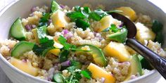 Quinoa Salad with Pineapple & Coriander by Australian Pineapples Ambassador and nutritionist, Dr Joanna McMillan