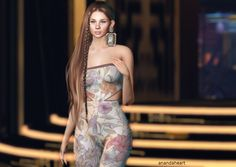 Second Life, Strapless Dress, Shoulder Dress, Poses, Pictures, Blog, Hair, Dresses, Fashion