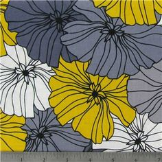Sezzray Packed Flower Fabric | Shop Hobby Lobby