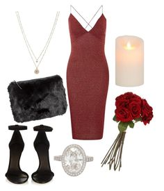 """""""V Day """" by cait-oshau on Polyvore featuring LC Lauren Conrad, AX Paris, Isabel Marant, H&M, Sia, Tiffany & Co., women's clothing, women, female and woman"""