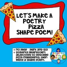 Examples of shape poems for Kids - The Leaning Tower of Pizza ...