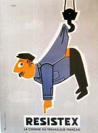 Raymond Savignac - Resistex 1952