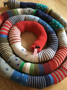 Sock snake successfully made!