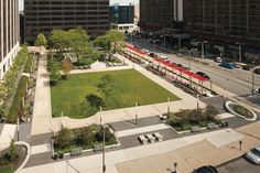 Perk Park in Cleveland (USA). By Thomas Balsley Associates with Jim McKnight.