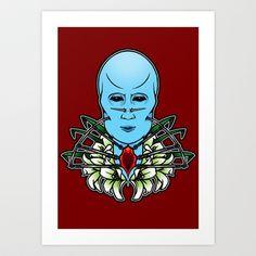 Cenobitess Art Print by Andrew Mark Hunter - $13.52