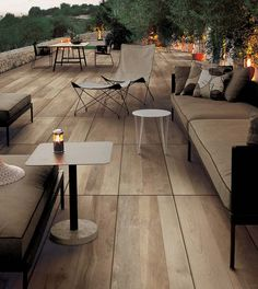 Create a cosy and long lasting design using Porcelain Paving