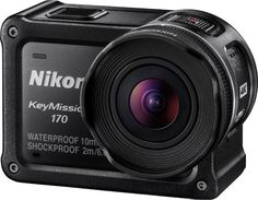 Nikon KeyMission 170 (Wide-Angle Point of View Video in 4K UHD), Action Camera Enables You to Capture, Create & Share Engaging, Personal Missions: Waterproof, Freezeproof & Shockproof http://www.photoxels.com/nikon-keymission-360-170-80/