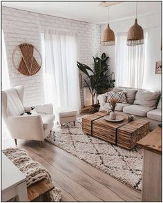 21 Modern Living Rooms Ideas and Decoration Pictures [New] l Boho Living Room Bright Decoration Ideas Living Livingroom Modern Pictures Rooms Boho Living Room, Living Room Modern, Home And Living, Living Room Designs, Living Spaces, Bohemian Living, Small Living, Contemporary Living Room Decor Ideas, Living Room Trends