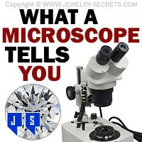 ►► WHAT A MICROSCOPE TELLS YOU ►► Jewelry Secrets