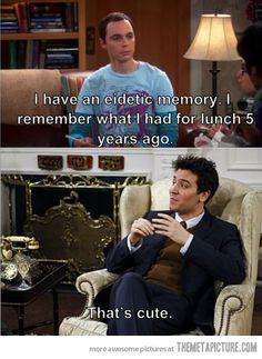 Eidetic memory…