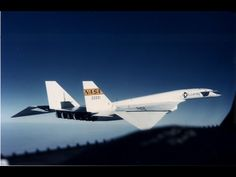 Folding wingtips to allow the XB-70 to ride on it's own shockwave