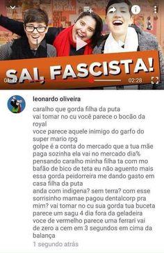Galera o @pecesiqueira acabou de postar @joaozuta16 que caralhos você está falando rapaz