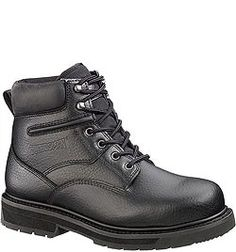 53045 Guardsman by Hytest Unisex EH Safety Boots - Black