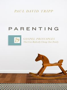 This book by Paul David Tripp sets forth fourteen practical and gospel-centered principles that help parents view their role through the lens of God's grace, radically changing the way they think about every interaction with their children.