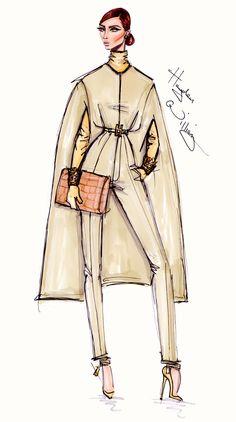 #Hayden Williams Fashion Illustrations  #'Ciao Milano'by Hayden Williams