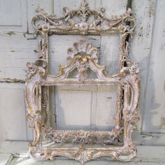 Pink frame grouping ornate cottage chic frames pink with white and gold accents wall hanging home decor anita spero design