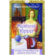 The traditional Kipper cards gleam in a new mystical splendour. After the Mystical Lenormand, Regula Elizabeth Fiechter introduces us to her new Mystic Kipper deck, another treasure for those interested in divination. Urban Trosch painted the 36 cards in the classical egg tempera technique. The result is a work of art with great luminous power and exactitude.