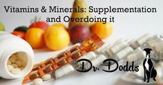 Dr. Jean Dodds' Pet Health Resource Blog | Vitamin and Minerals – Supplementation and...