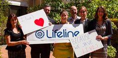 #ilovebeCAUSE  entry from lifeline