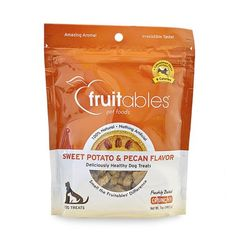 FRUITABLES 953028 8-Pack Countables Dog Treats Sweet Potato and Pecan, 7-Ounce -- More info could be found at the image url. (This is an affiliate link and I receive a commission for the sales) #Dogs