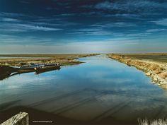 Delta evrou by Alexandros Parotidis on Airplane View, Landscapes, River, Places, Nature, Paisajes, Scenery, Naturaleza, Nature Illustration