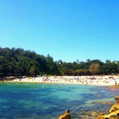 Shelley beach, Manly NSW Australia.  A beautiful scenic walk from Manly to Shelley Beach.  Also great food at the Kiosk