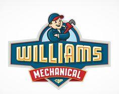 Logo design for Williams Mechanical, HVAC contractor located in Albuquerque, NM.