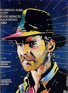 Polish poster for RAIDERS OF THE LOST ARK
