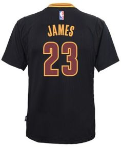 4591795d9 adidas Boys  LeBron James Cleveland Cavaliers Replica Pride Jersey