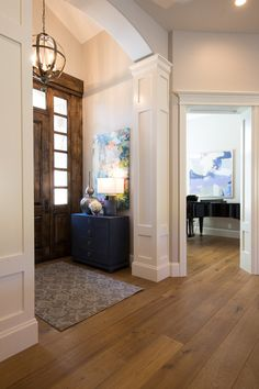 Lovely Luxury Entry Way Designed By Utah Based Interior Design Firm Lisman Studio