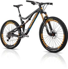 Santa Cruz Bicycles Bronson C with Enve Wheels