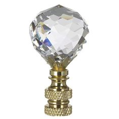 Multi-Faceted Swarovski Crystal Ball Lamp Shade Finial * Insider's special offer that you can't miss : Decor Lamp Shades Light Fixtures Bedroom Ceiling, Outdoor Light Fixtures, Pendant Light Fixtures, Ceiling Lights, Ceiling Fans, Lace Lampshade, Lampshades, Gold Lamp Shades, Fan Lamp