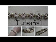 DIY - TUTORIAL Bracciale Isabella con pinch beads - YouTube