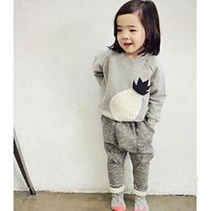 Girl's Voorjaar/Herfst Micro-elastisch Dik Lange Mouw Heren Sweaters/Kleding Sets ( Katoen )(2373879) – EUR € 28.64