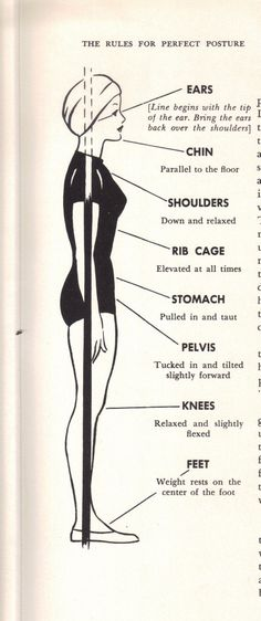Posture matters! And not just when it comes to beauty.