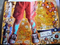 Art Journal Page (by laura.kathryn.)