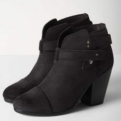 """Rag and Bone """"harrow"""" booties Only worn one time for few hrs !!!!! I bought wrong size but threw away receipt and ended up with two pairs ..   Booties are flawless !!!!! Seen on many celebrities rag & bone Shoes Ankle Boots & Booties"""