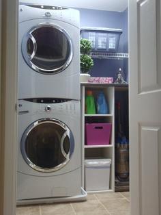 I miss my old laundry room.