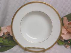 CoalPort China Dinnerware England Elite Gold Era 1970-1986 Large Rim Soup Bowl