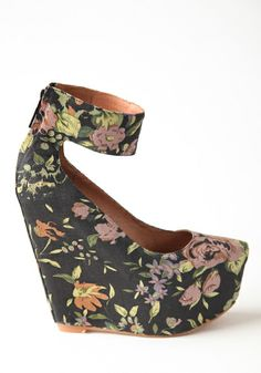 Camden Floral Wedge By Matiko