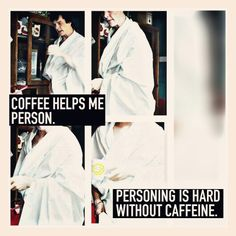 #Goodmorning #Sherlock #BenedictCumberbatch #coffee